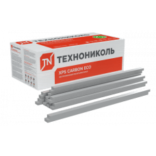 Бруски Технониколь XPS Carbon ECO 50х50х1180 мм (0,2832 м3/96 шт./уп.)