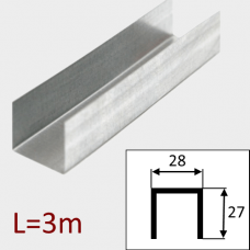 Профиль ПН-28/27 L=3м