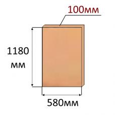 Экструдированный пенополистирол XPS Техноплекс 1180x580x100мм