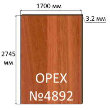 ДВП 3,2 мм, 2745х1700 мм, Орех-Дуб