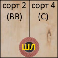 ФК 1525х1525 3мм сорт 2/4 ШЛИФ