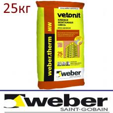 Клеевая смесь Weber.therm MW (вата)