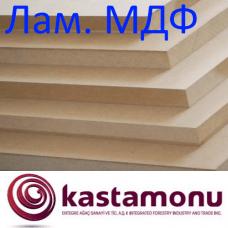 ЛМДФ 10x2800x2070 мм Kastamonu белая односторонняя
