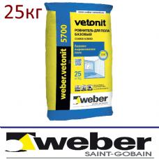 Наливной пол Weber.Vetonit 5700