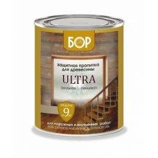Защитная пропитка древесины ULTRA БОР в ассорт. (БАНКА 2,7 кг)